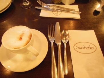 Coffee Latte chez Sarabeth's