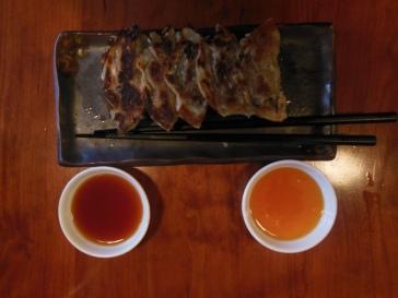 Gyoza chez Yakitori Totto