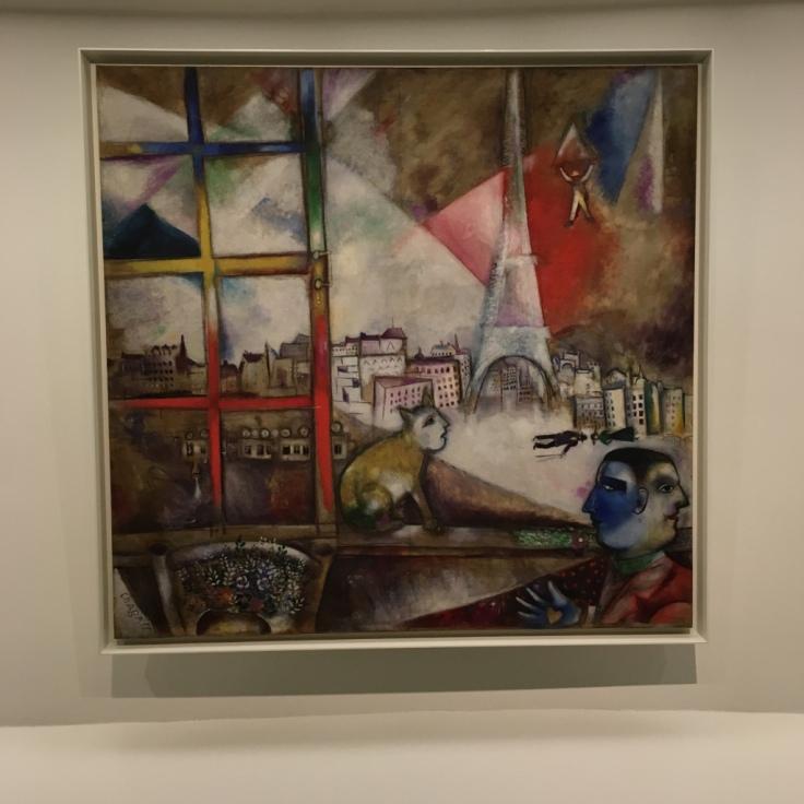 Chagall-Paris par la fenêtre-Guggenheim