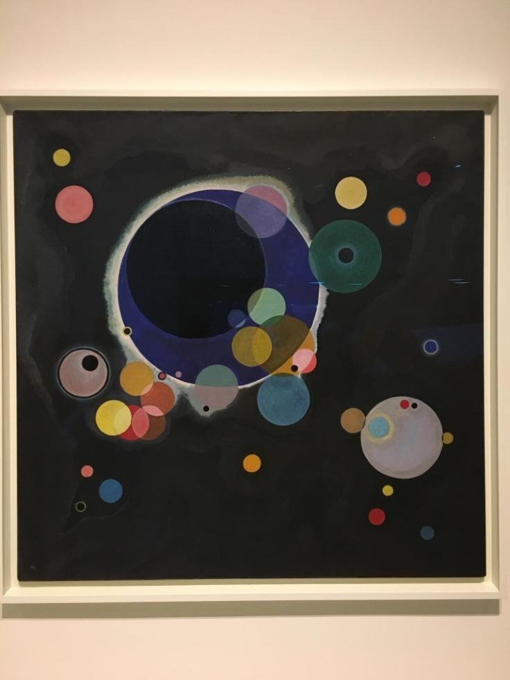 Kandisky-several circles - guggenheim