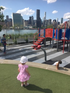 8-long island city - park et vue sur Manhattan